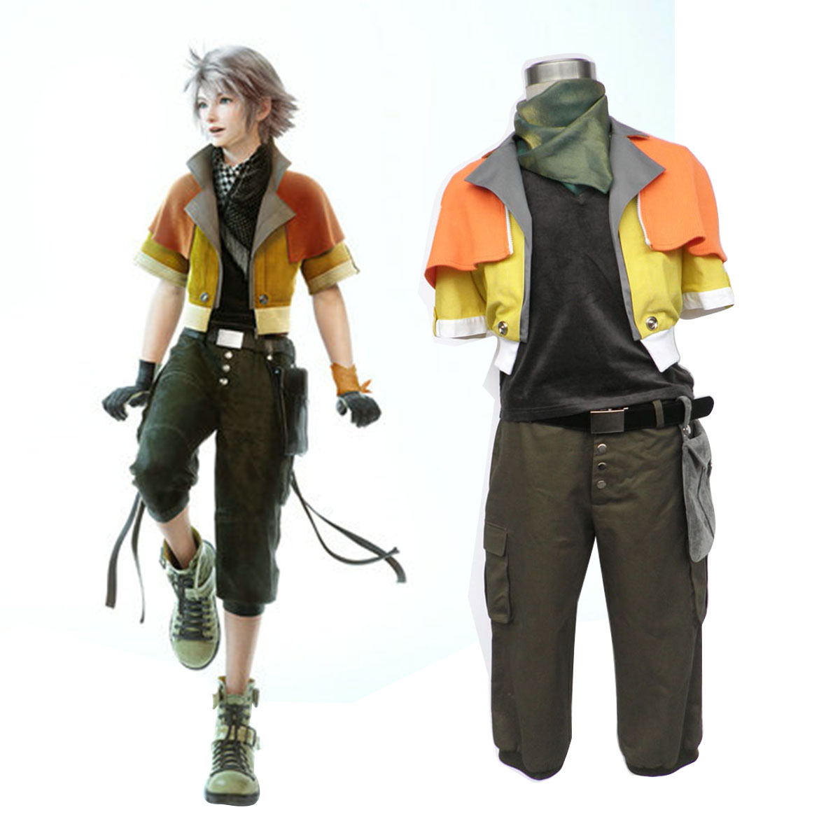 Final Fantasy XIII Hope Estheim 1 Cosplay Costumes AU
