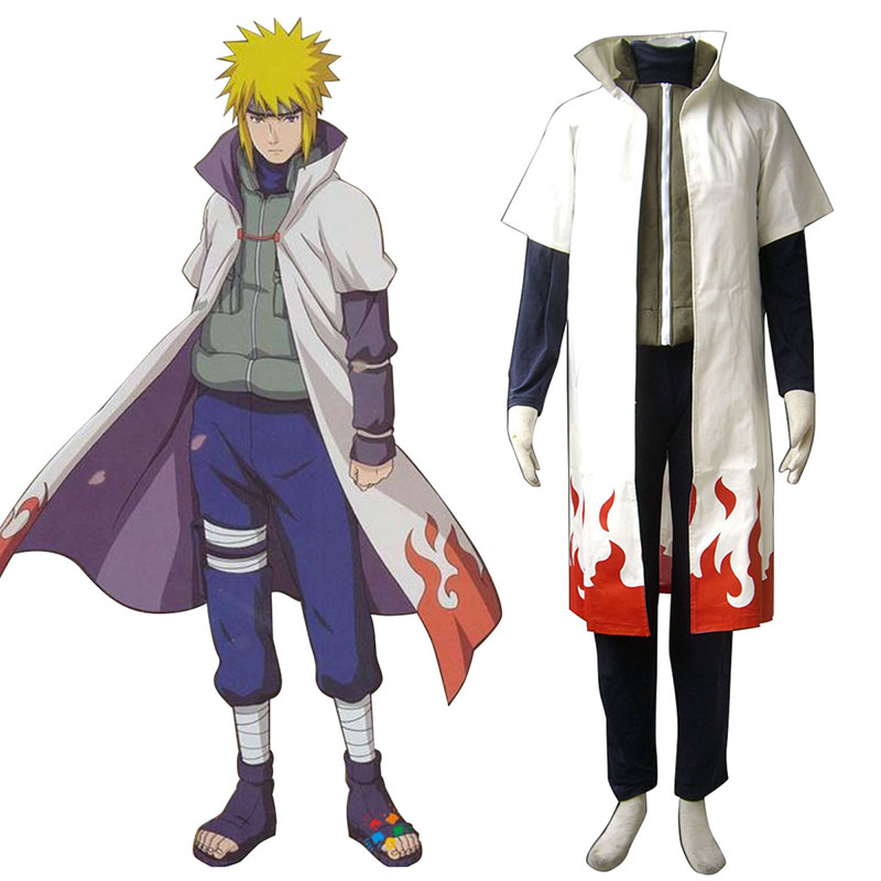 Naruto Fourth Hokage 1 Cosplay Costumes AU