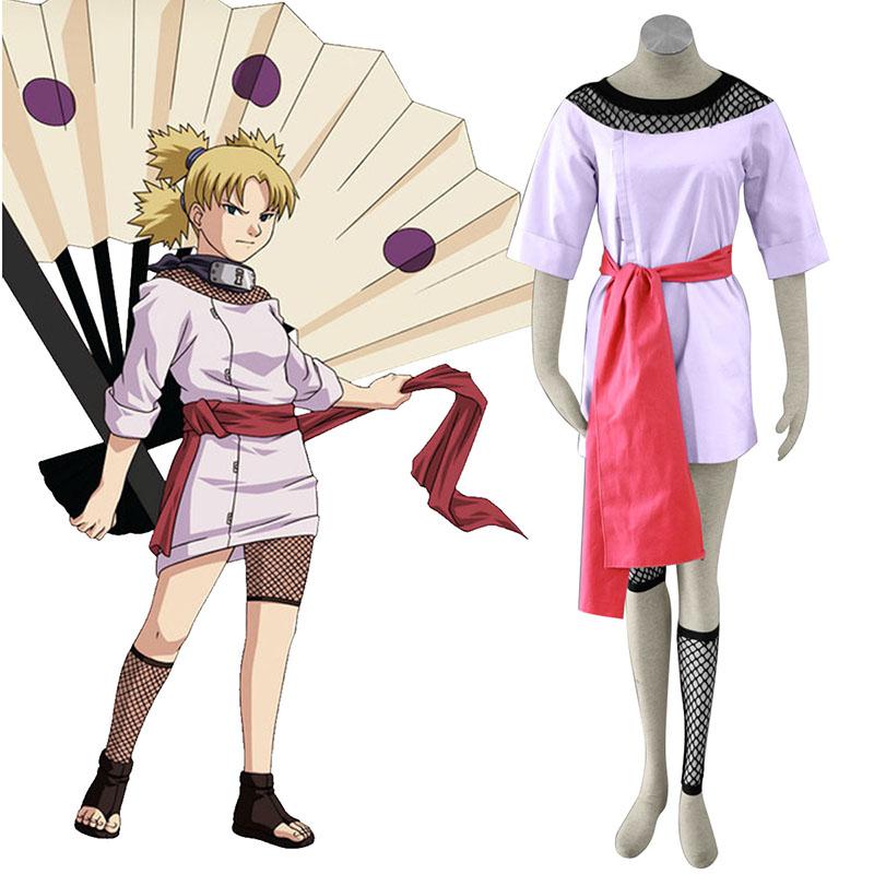 Naruto Temari 1 Cosplay Costumes AU Naruto Temari 1