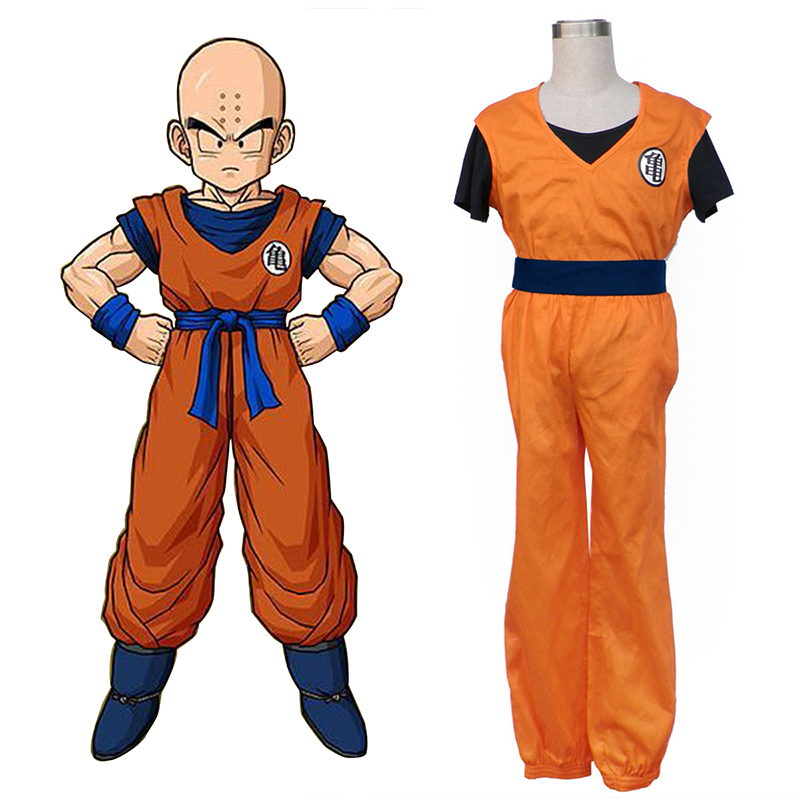 Dragon Ball Krillin Cosplay Costumes AU