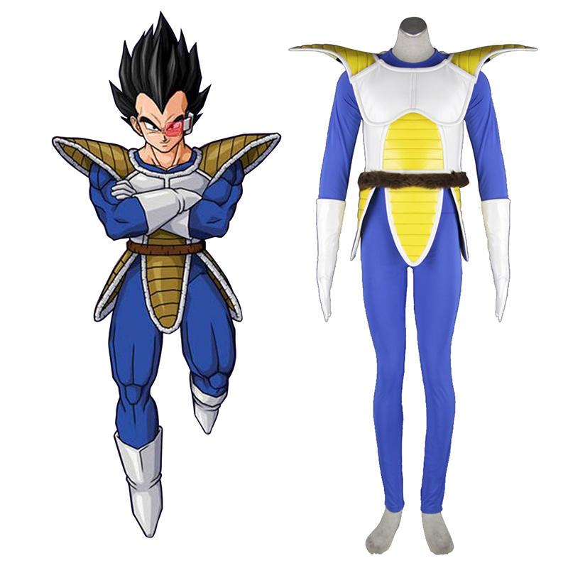 Dragon Ball Vegeta 1 Cosplay Costumes AU