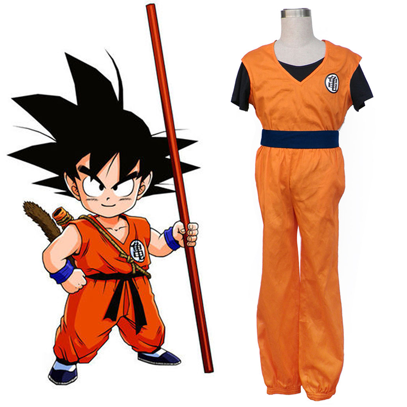Dragon Ball Son Goku 1 Cosplay Costumes AU