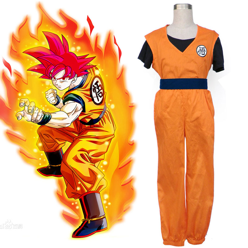 Dragon Ball Son Goku 2 Cosplay Costumes AU