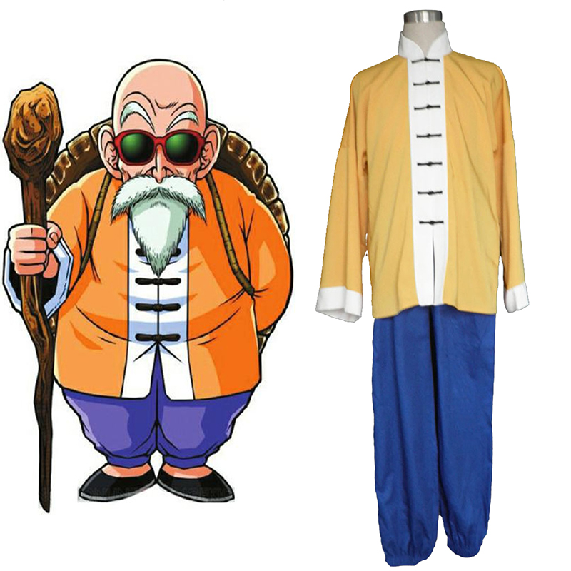 Dragon Ball Kame-Sennin 1 Cosplay Costumes AU