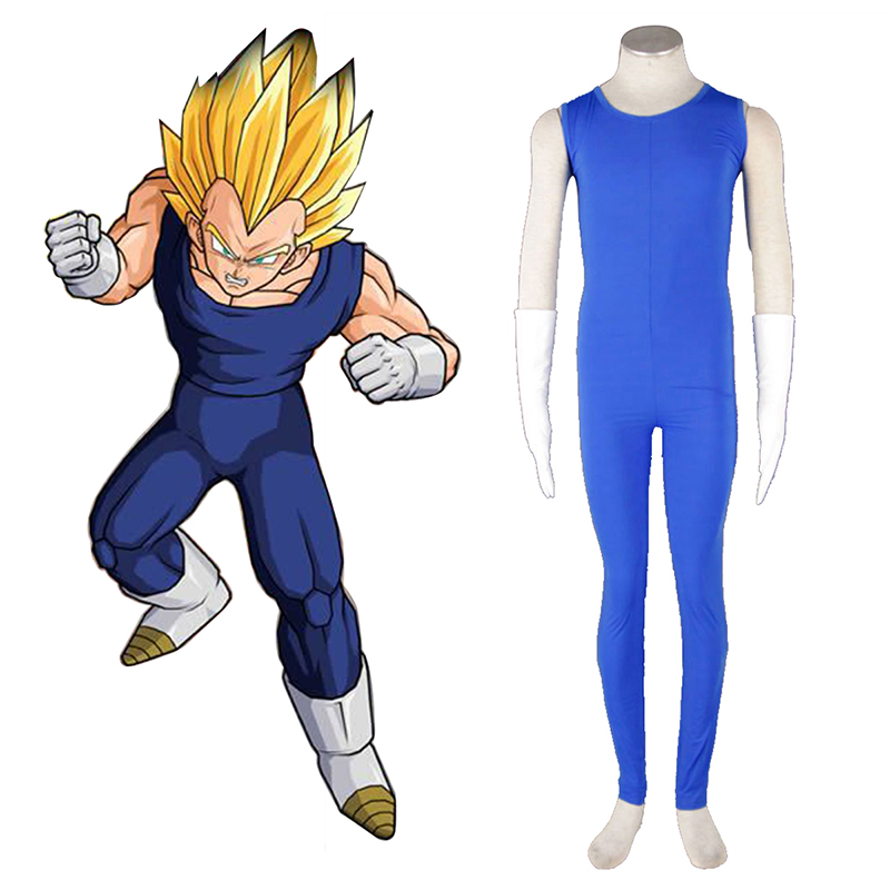 Dragon Ball Vegeta 2 Cosplay Costumes AU