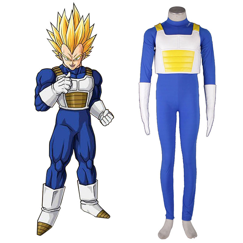 Dragon Ball Vegeta 3 Cosplay Costumes AU