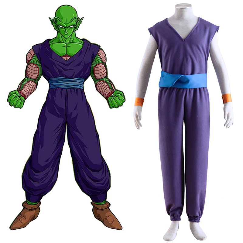 Dragon Ball Piccolo 1 Purple Cosplay Costumes AU