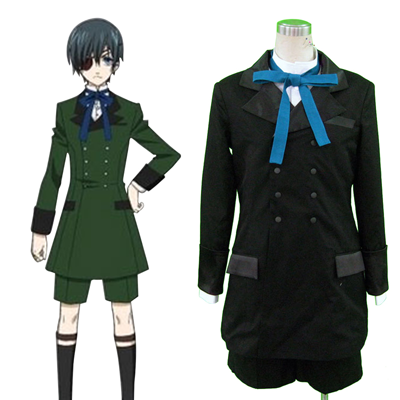 Black Butler Ciel Phantomhive 4 Cosplay Costumes AU