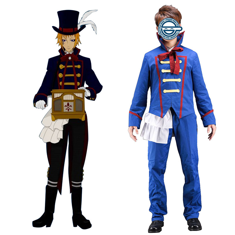 Black Butler Drocell Caines 1 Cosplay Costumes AU