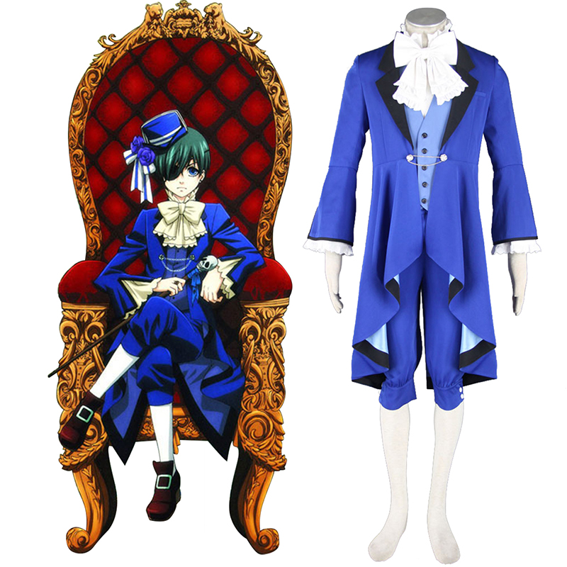 Black Butler Ciel Phantomhive 18 Cosplay Costumes AU