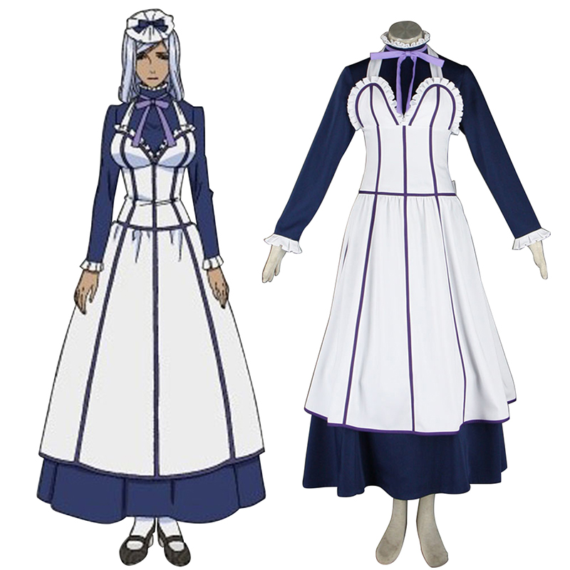 Black Butler Hannah Annafellows 1 Maid Cosplay Costumes AU