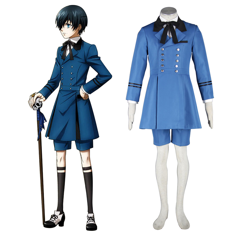 Black Butler Ciel Phantomhive 5 Cosplay Costumes AU
