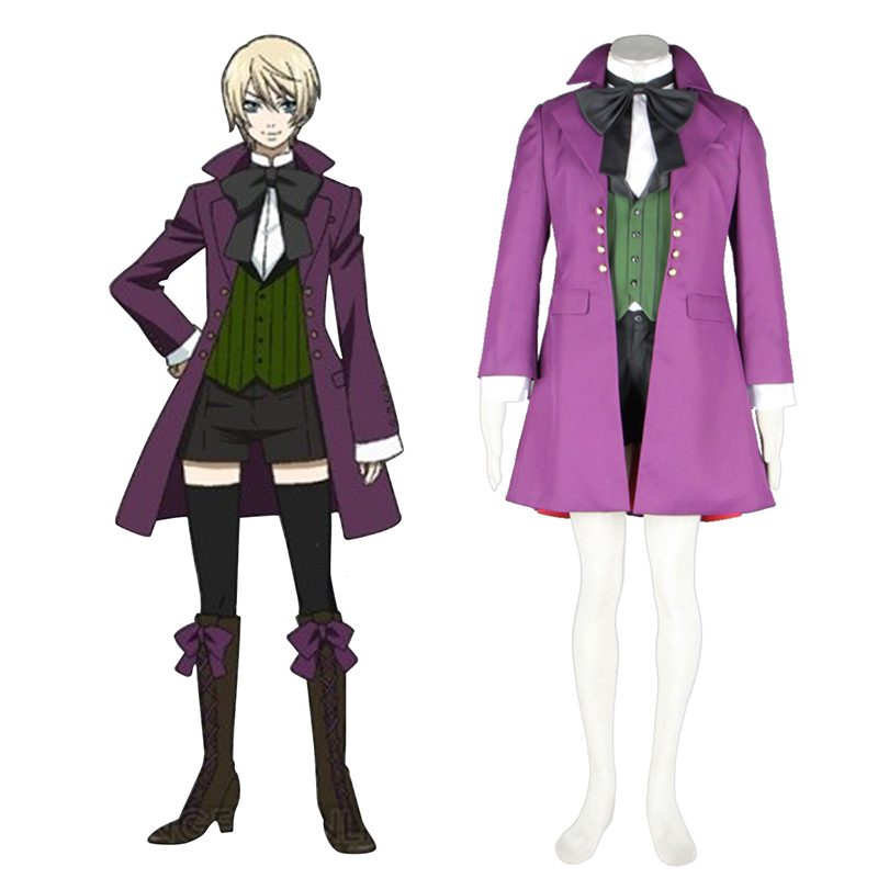 Black Butler Alois Trancy 1 Cosplay Costumes AU