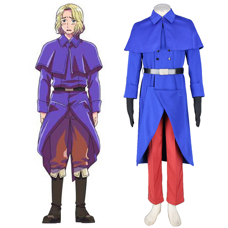 Axis Powers Hetalia France Francis Bonnefeuille 1 Cosplay Costumes AU