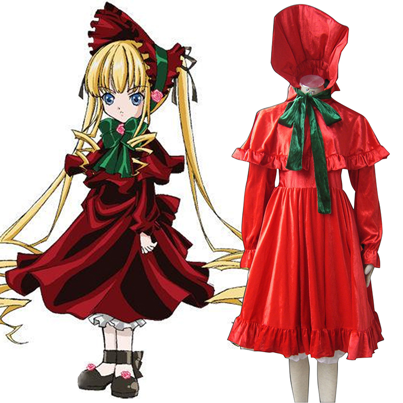 Rozen Maiden Shinku Cosplay Costumes AU