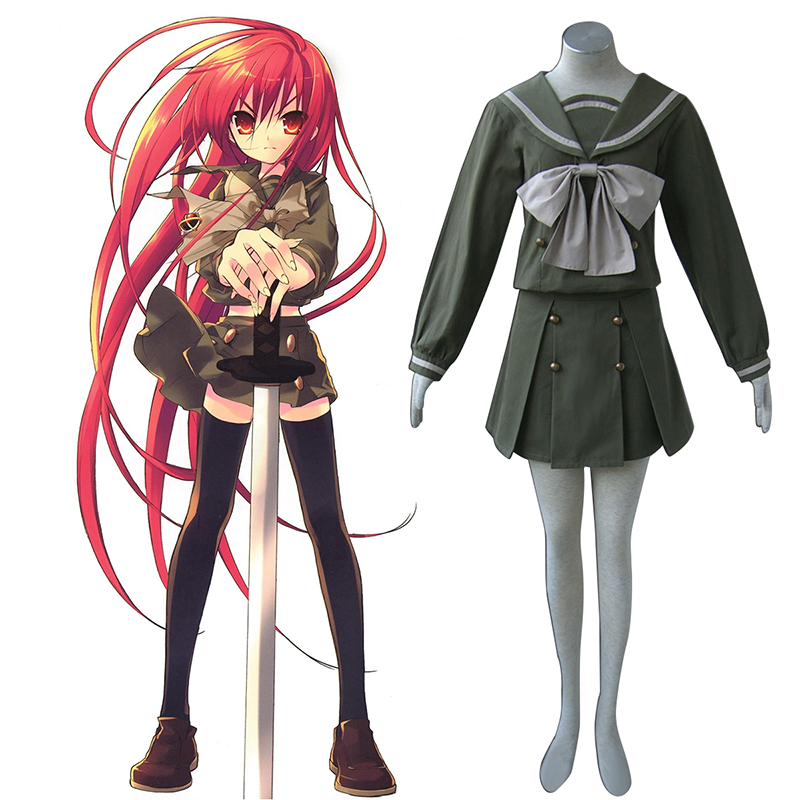 Shakugan no Shana Shana 2 Winter Sailor Cosplay Costumes AU