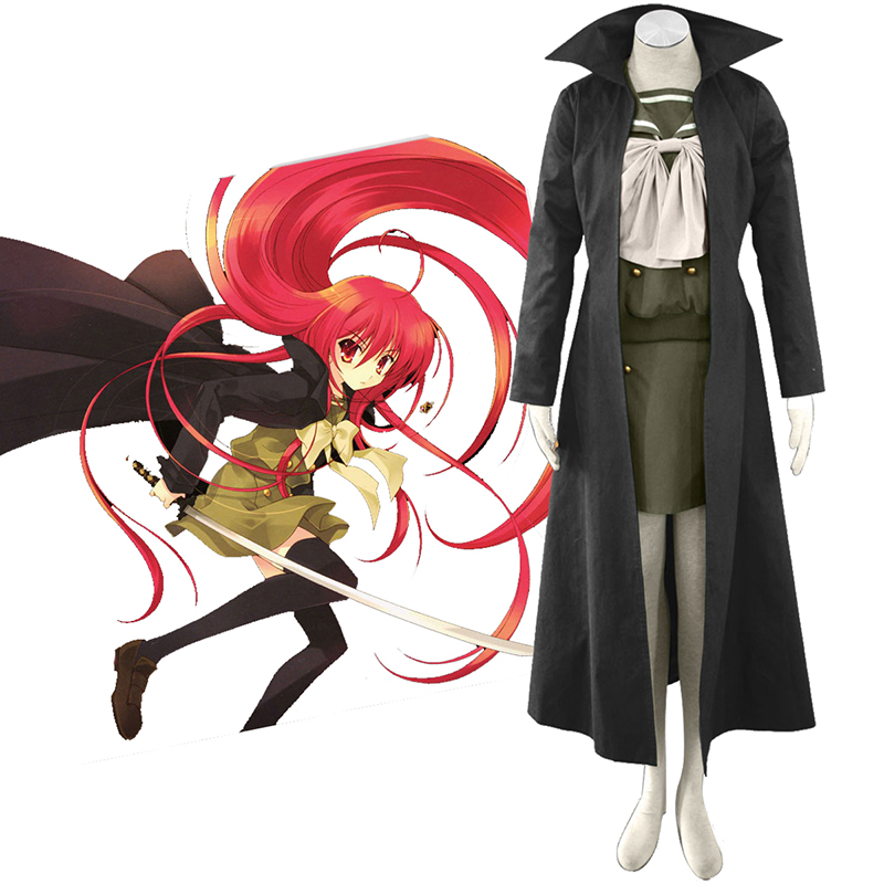 Shakugan no Shana Shana 3 Cloak Cosplay Costumes AU