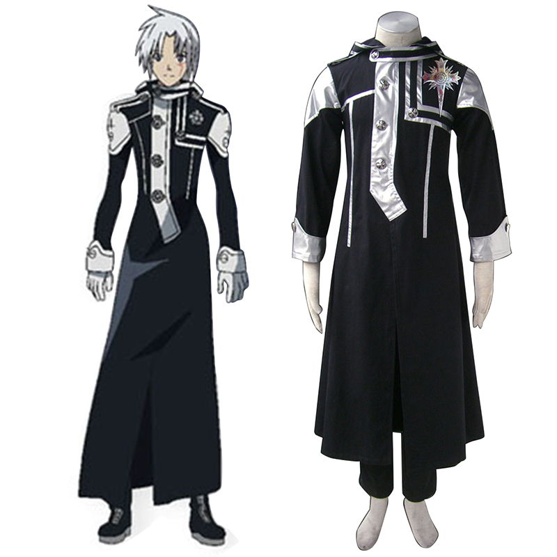 D.Gray-man Allen Walker 1 Cosplay Costumes AU