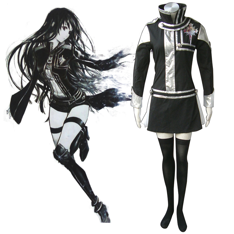 D.Gray-man Lenalee Lee 1 Cosplay Costumes AU