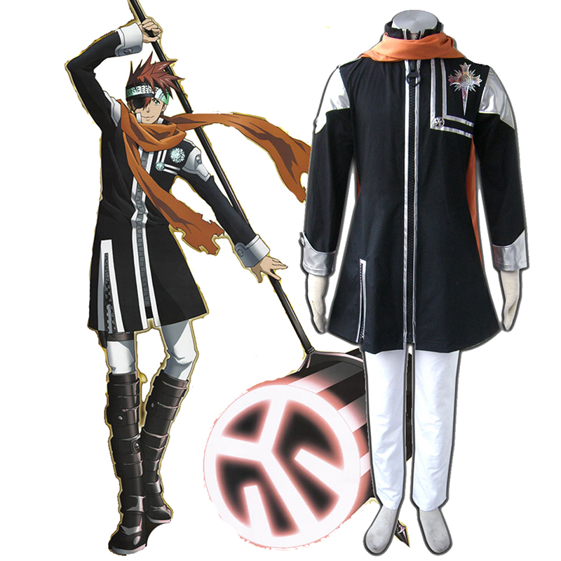 D.Gray-man Lavi 1 Cosplay Costumes AU