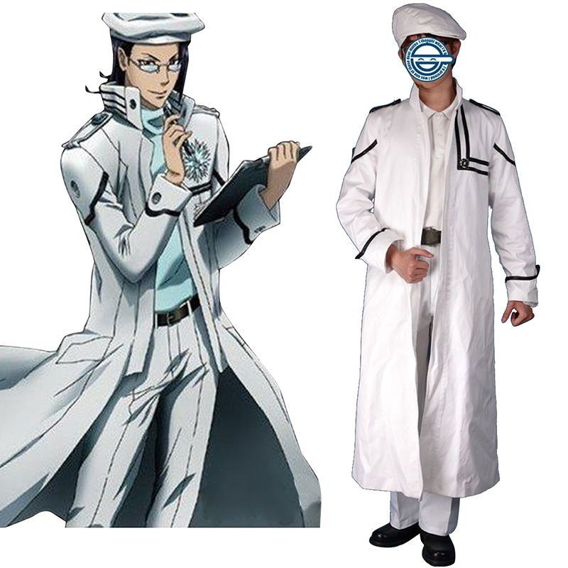 D.Gray-man Komui Lee 1 Cosplay Costumes AU