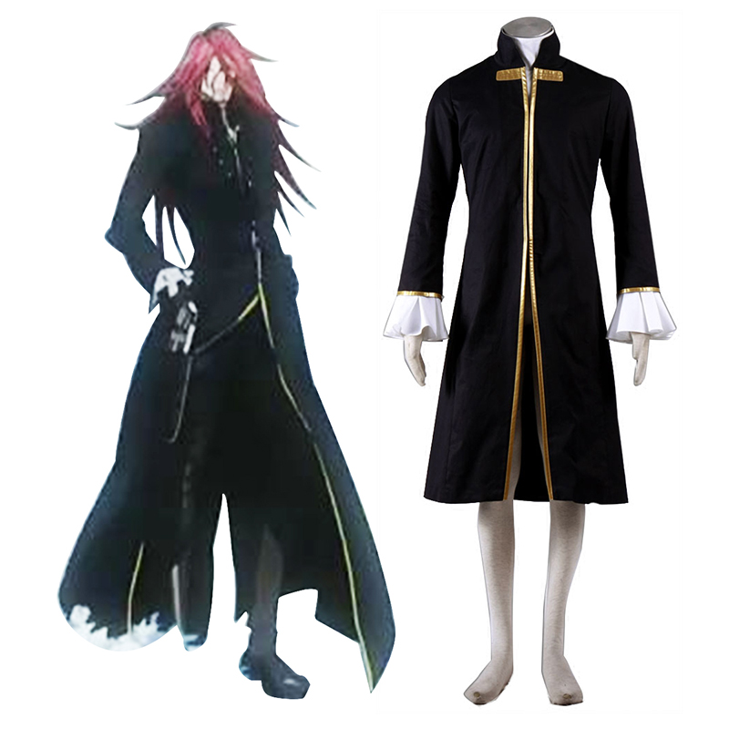 D.Gray-man Cross Maria 1 Cosplay Costumes AU