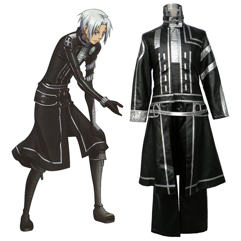 D.Gray-man Allen Walker 2 Cosplay Costumes AU
