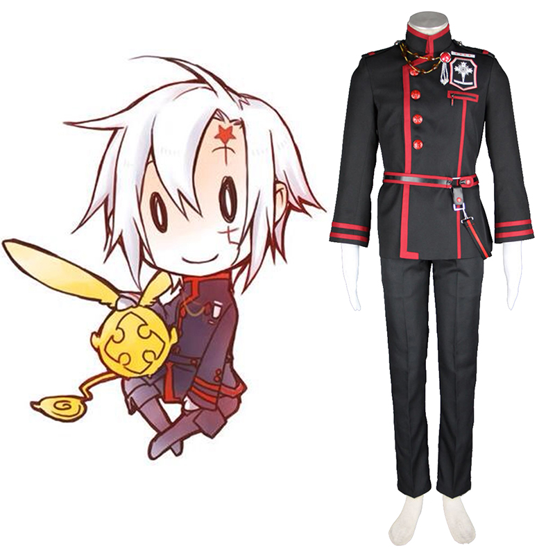 D.Gray-man Allen Walker 3 Cosplay Costumes AU