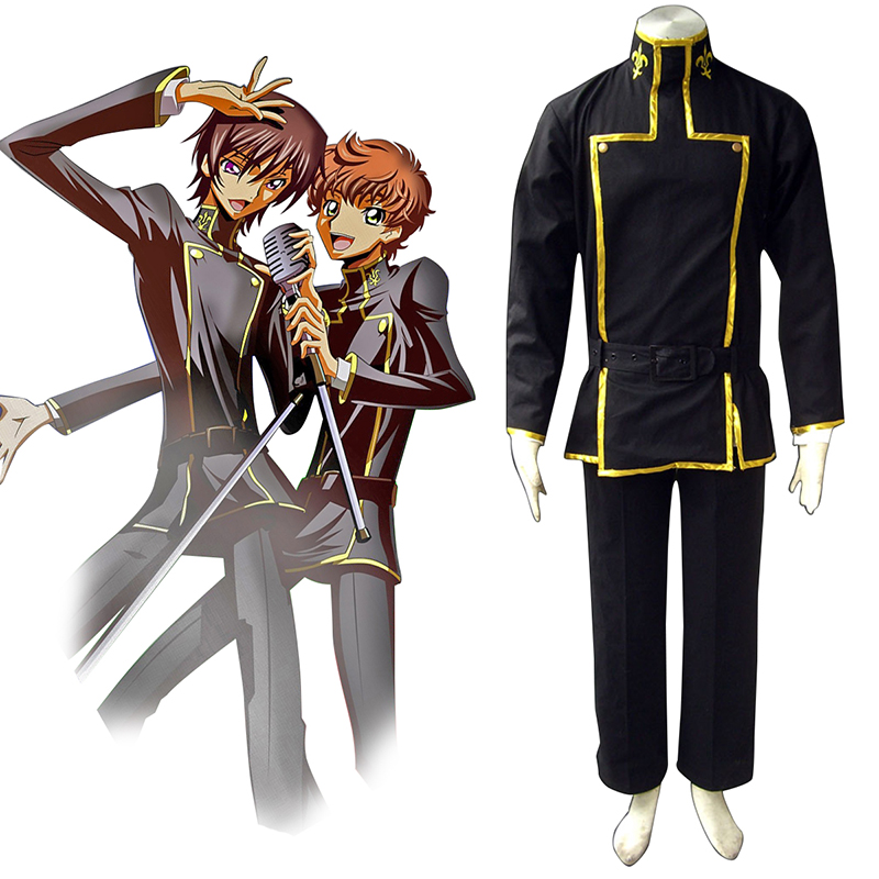 Code Geass Lelouch Lamperouge 1 Cosplay Costumes AU