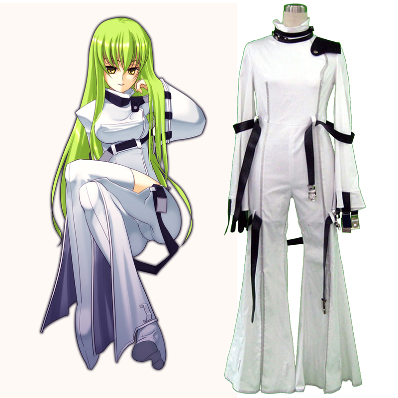 Code Geass C.C. 1 Cosplay Costumes AU