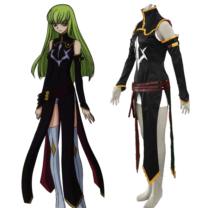 Code Geass C.C. 2 Cosplay Costumes AU