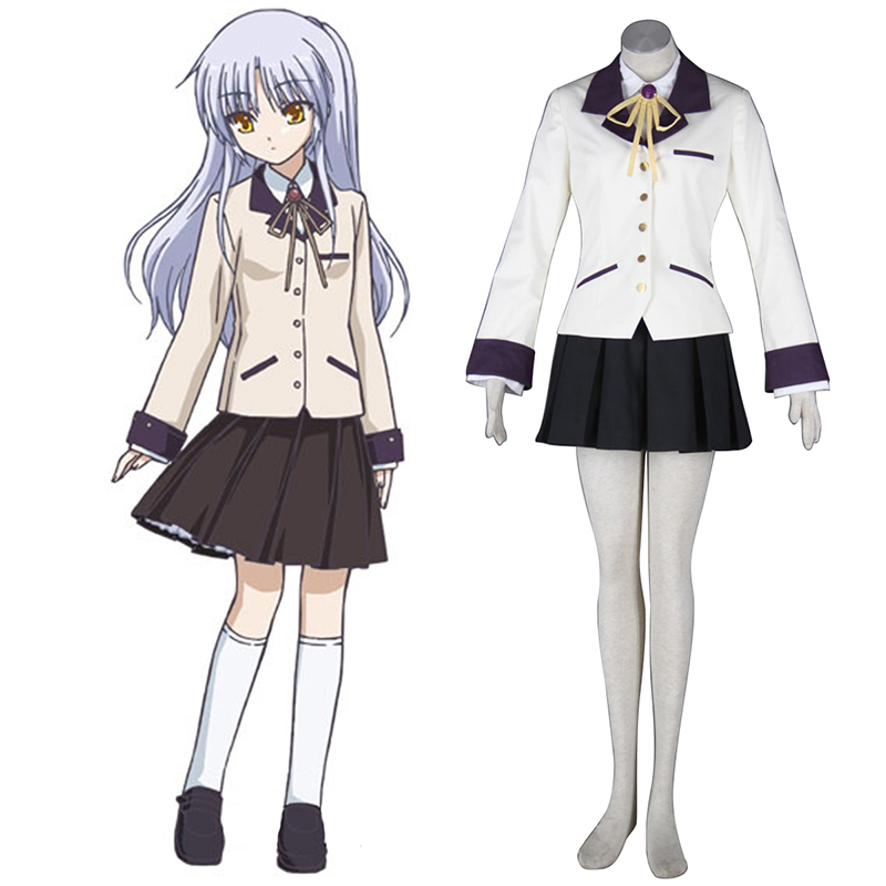Angel Beats! Tachibana Kanade 1 Cosplay Costumes AU