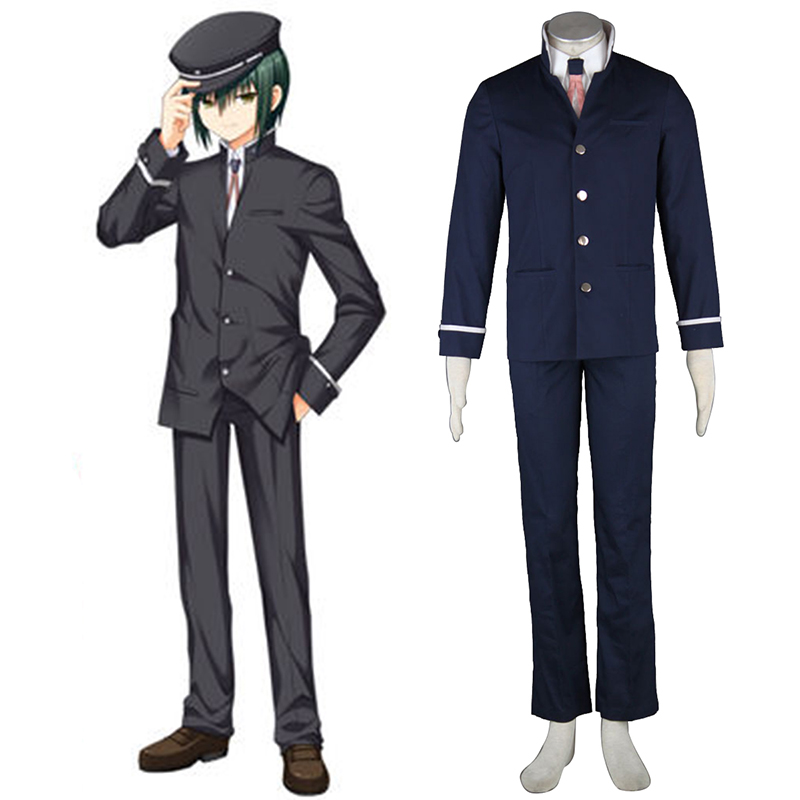 Angel Beats! Naoi Ayato Cosplay Costumes AU
