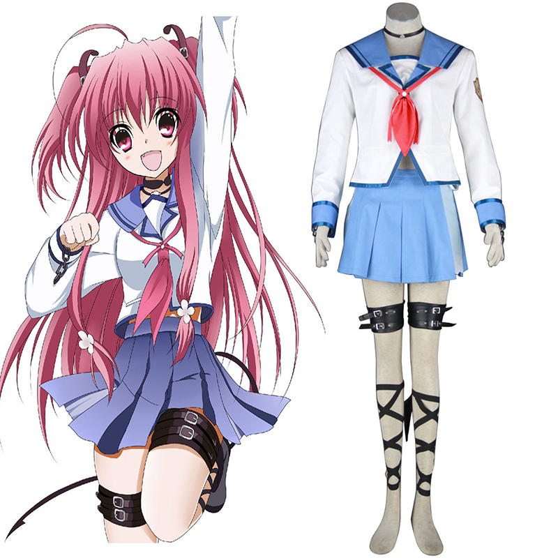 Angel Beats! Yui 1 Cosplay Costumes AU