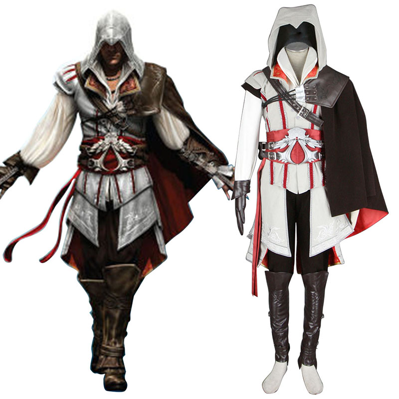 Assassins Creed II Assassin 2 Cosplay Costumes AU