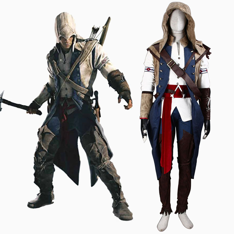 Assassin's Creed III Assassin 7 Cosplay Costumes AU