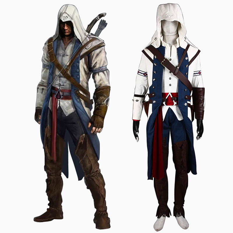 Assassin's Creed III Assassin 8 Cosplay Costumes AU