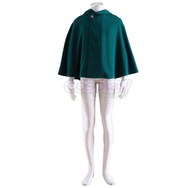 Attack on Titan Survey Corps Cloak 2 Cosplay Costumes AU