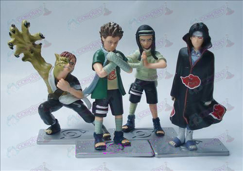 2nd generation 4 models Naruto Doll