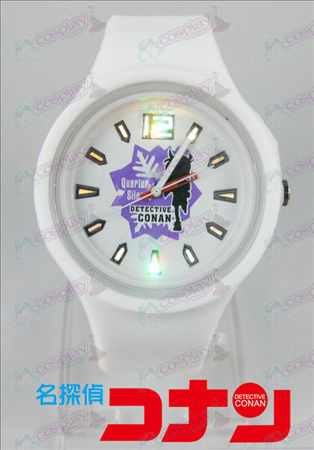 Colorful flashing lights sports watch - the 15th anniversary of Conan