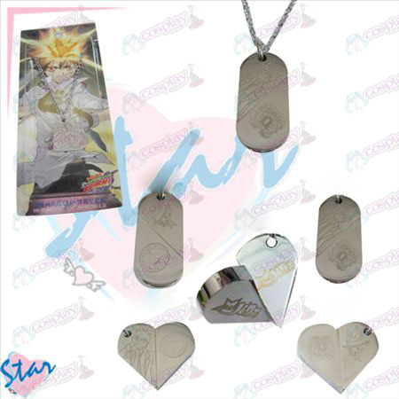 Reborn! Accessories necklace heart-shaped transition