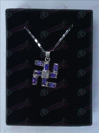 Bleach Accessories thousand words necklace (large purple)