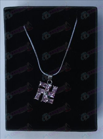 Bleach Accessories thousand words necklace (small purple)