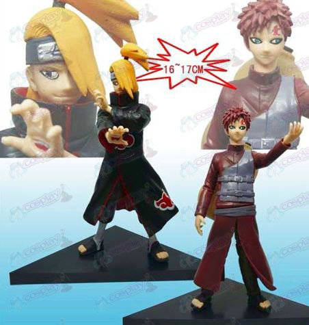 8th generation 2 Naruto floor big doll (Deidara Gaara)