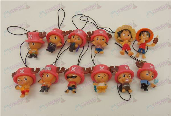 12 Chopper Luffy doll machine rope