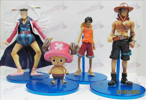 24 Generation 4 models Pirate Doll (6-15cm)