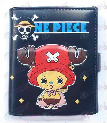 Q version of One Piece Accessories Chopper bulk wallet (A)