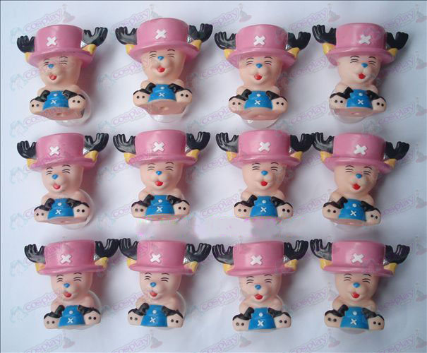 One Piece Accessories Chopper sucker doll (12 / set)