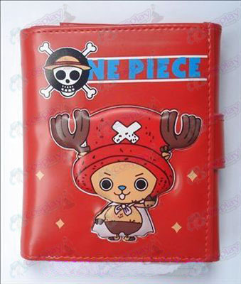 Q version of One Piece Accessories Chopper bulk Wallet (Red)