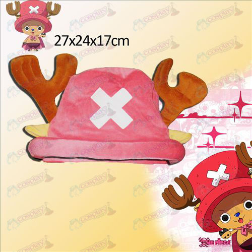 One Piece Accessories Chopper Pink Hat